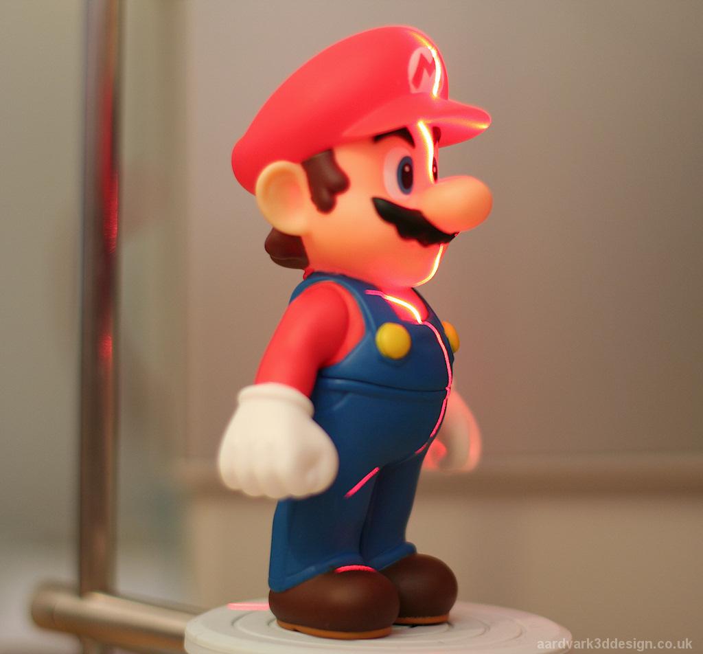 While Mario